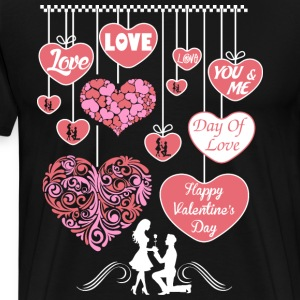 Happy Valentine Day 2017 T-Shirts - Men's Premium T-Shirt