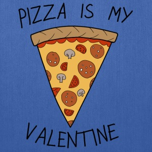 Anti Valentine's Day Pizza Funny Slogan - Tote Bag