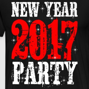 New Year 2017 Party T-Shirts - Men's Premium T-Shirt