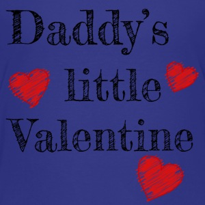 Valentine's Day Daddy's Little Valentine - Kids' Premium T-Shirt