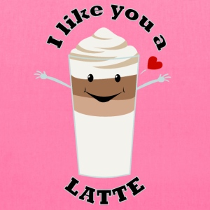 Valentine's Day Like You A Latte Quote Humour - Tote Bag