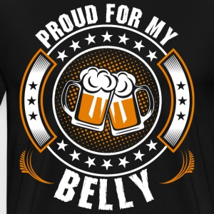 Proud For My Belly T-Shirts - Men's Premium T-Shirt
