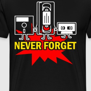Never Forget - Men's Premium T-Shirt