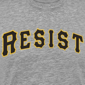 Resist Baseball-Style T-Shirt - Men's Premium T-Shirt