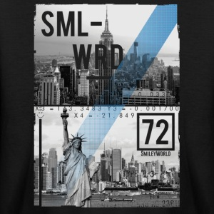 SmileyWorld NYC Skyline Statue Of Liberty - Kids' Long Sleeve T-Shirt