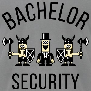 Bachelor Security Vikings (Stag Party, P) T-Shirts - Men's T-Shirt by American Apparel