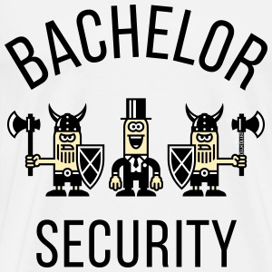 Bachelor Security Vikings (Stag Party, P) T-Shirts - Men's Premium T-Shirt
