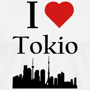 I Love Tokio - Men's Premium T-Shirt