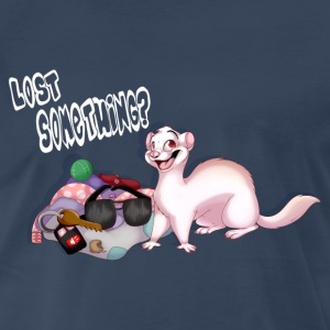 Ferret Lost Something Men's Premium Shirt - Men's Premium T-Shirt