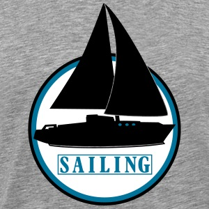 sailing x_vec_3 us T-Shirts - Men's Premium T-Shirt