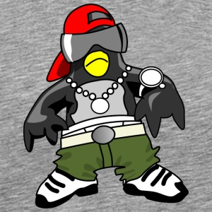 Gangster penguin - Men's Premium T-Shirt