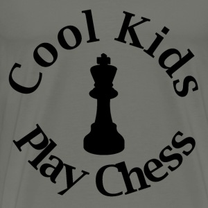 Cool Kids Play Chess - Men's Premium T-Shirt