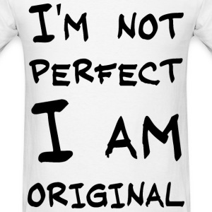 Not perfect - Men's T-Shirt