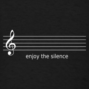 Enjoy the silence - Men's T-Shirt