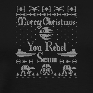 MERRY CHRISTMAS YOU REBEL - Men's Premium T-Shirt