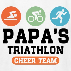 Triathlon Papa Kids' Shirts - Kids' T-Shirt