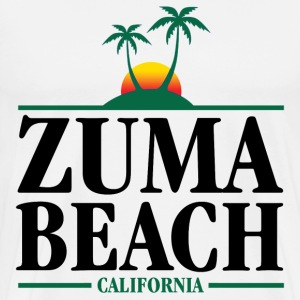 Zuma Beach California T-Shirts - Men's Premium T-Shirt