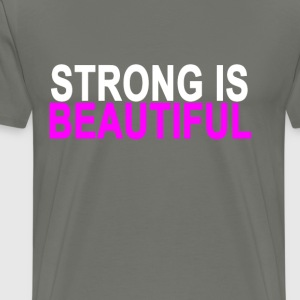 strong_is_beautiful_ - Men's Premium T-Shirt