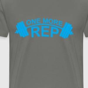 one_more_rep_ - Men's Premium T-Shirt
