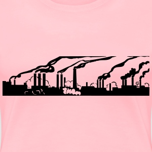 Industry pollution - Women's Premium T-Shirt