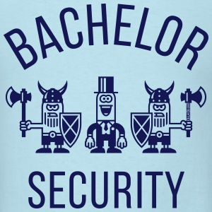 Bachelor Security Vikings (Stag Party / 1C) T-Shirts - Men's T-Shirt
