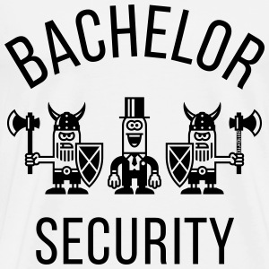 Bachelor Security Vikings (Stag Party / 1C) T-Shirts - Men's Premium T-Shirt