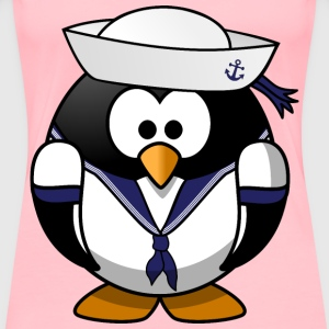 Sailor penguin - Women's Premium T-Shirt