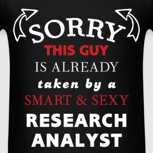 Research Analyst - Sorry, this guy is already take - Men's T-Shirt