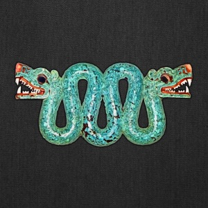 Aztec double-headed serpent - Tote Bag