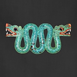 Aztec double-headed serpent - Adjustable Apron