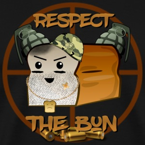 Respect the BuN T shirt - Men's Premium T-Shirt
