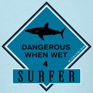 dangerous surfer_vec_3 us T-Shirts - Men's T-Shirt