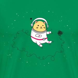 SPACE CAT TO THE RESCUE T-Shirt - Men's Premium T-Shirt