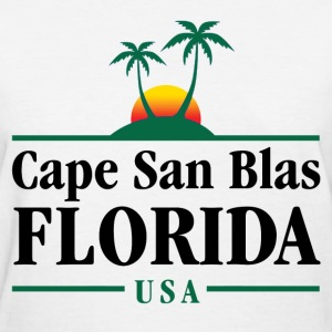 Cape San Blas Florida T-Shirts - Women's T-Shirt