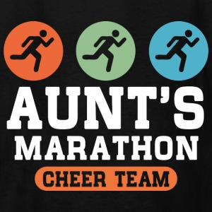 Aunts Marathon Cheer Team Kids' Shirts - Kids' T-Shirt