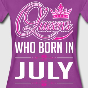 Queens Who Born In July T-Shirts - Women's Premium T-Shirt