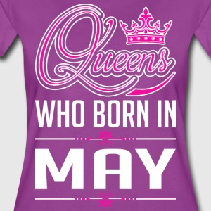 Queens Who Born In May T-Shirts - Women's Premium T-Shirt
