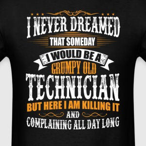 Technician Grumpy Old T-Shirt  T-Shirts - Men's T-Shirt