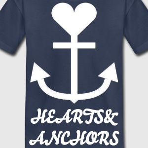 Hearts&Anchors - Kids Big Logo t-shirt - Kids' Premium T-Shirt