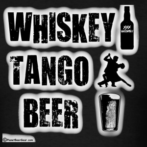 Whiskey Tango Beer Men's T-Shirt - Men's T-Shirt