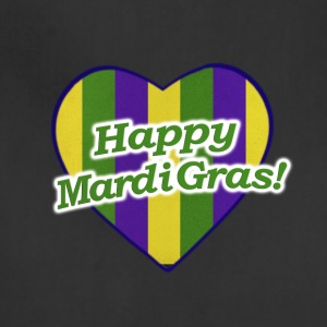 Happy Mardi Gras Logo - Adjustable Apron