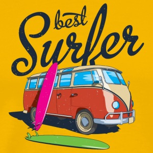 Best surfer - Men's Premium T-Shirt