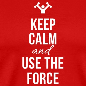Use The force - Men's Premium T-Shirt