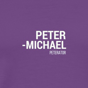 Peterator - Men's Premium T-Shirt