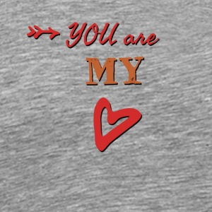 You are my heart - Men's Premium T-Shirt