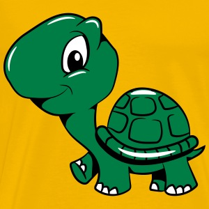 Turtle cute darling funny T-Shirts - Men's Premium T-Shirt