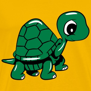 Turtle sweet dear T-Shirts - Men's Premium T-Shirt