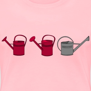 Gardening Watering Can - Women's Premium T-Shirt