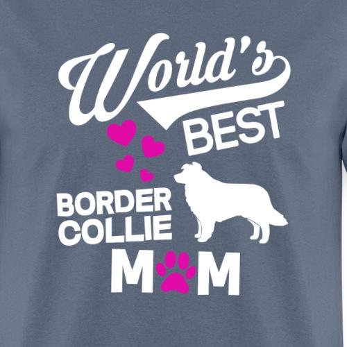Border Collie Dog Mom T-Shirt