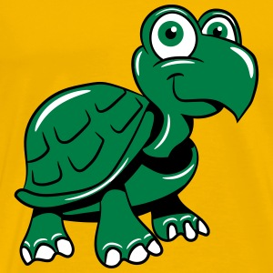 Turtle cute child-loving T-Shirts - Men's Premium T-Shirt